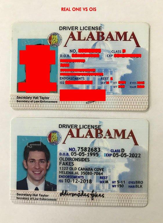 Alabama Fake Old al Sides Iron –