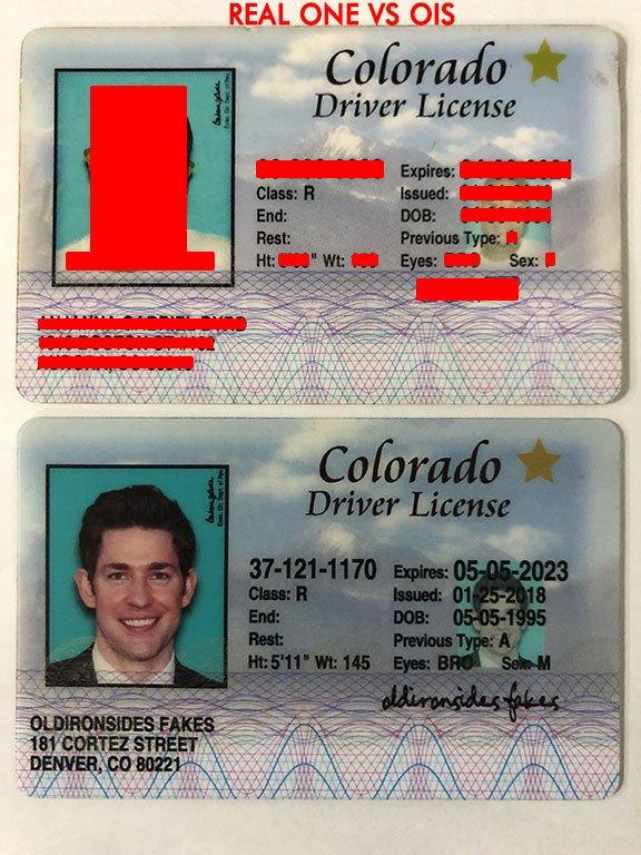 Colorado Driver License(Old CO) - Colorado fake id