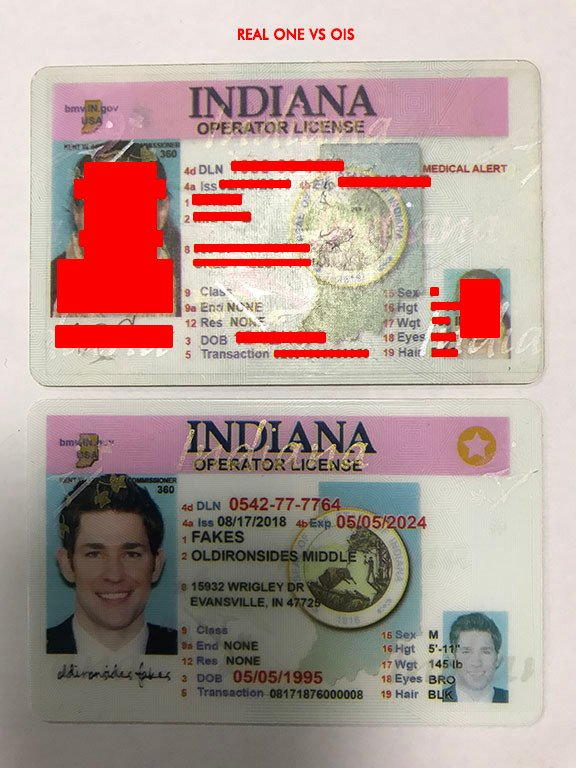 Fake Sides – in Old Indiana Iron