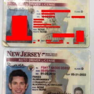 New Jersey Driver License(NJ)