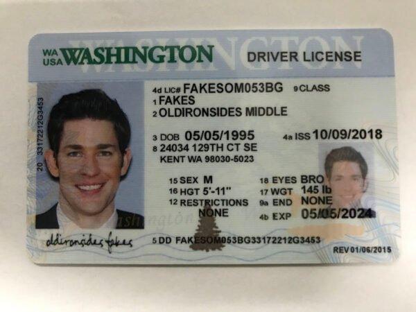 Washington Driver License(New WA)